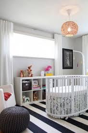 black white carpet nursery idea strip