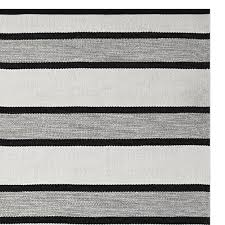 perennials awning stripe indoor outdoor rug black
