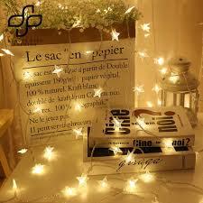 Giá bán Dây đèn LED hình ngôi sao 20 bóng trang trí nội thất tiệc lễ giáng  sinh