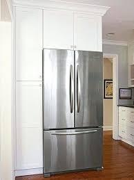 tall counter depth refrigerator. Modren Tall Kitchen Cabinets Refrigerator Surround Tall Wood Panels Ikea Cabinet Panel With Tall Counter Depth Refrigerator G