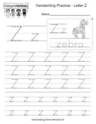 Kindergarten/nursery, primary 1 and 2, preschool phonics worksheets and esl resources from www.eslphonicsworld.com. Letter Z Writing Practice Worksheet Free Kindergarten English Worksheet For Kids