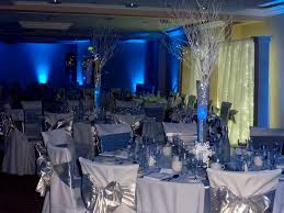 Royal Blue And Silver Wedding Decorations Ideas