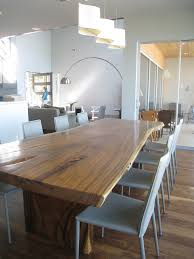 interesting raw wood dining table and gl top cover for wood dining table home decorating trends