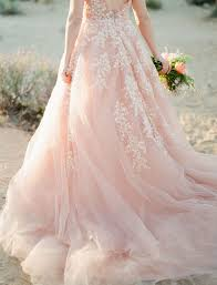 A Dreamy Pink Wedding Dress Captured In Joshua Tree Wedding