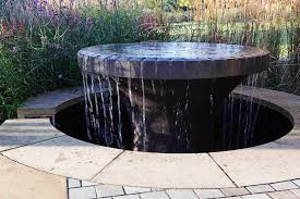 Modern Water Features Modern Outdoor Water Feature Aio Contemporary Styles