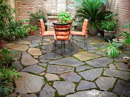installing patio stones inspirational best stone patio ideas for your backyard let s face it a