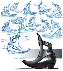 Image Illustration Image Core77com Sketchfu Womens Footwear Page Core77com