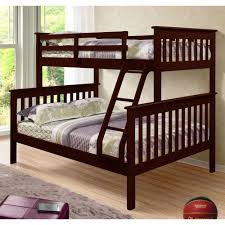 Amazon.com: Donco Kids Twin Over Full Mission Bunk Bed: Kitchen ...