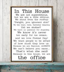 funny office poster. The Office Quotes TV Poster The Office Tv Show In This House Funny  | Home \u0026 Garden, Décor, Posters Prints EBay! Funny Poster O