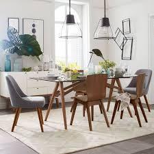 mid century modern kitchen table. mid-century dining chairs - walnut legs mid century modern kitchen table g