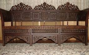 wooden antique sofa set