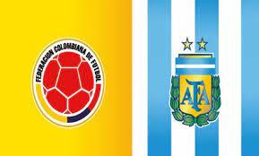 Argentina vs Colombia Football ...