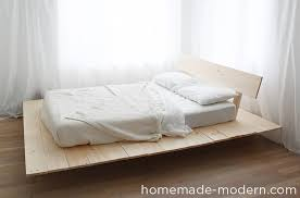 modern platform bed. This DIY Platform Bed Is Made Out Of 2x8s, 2x4s And Pine Boards. I Modern