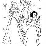 Migliore 20 Disegni Da Colorare Principesse Biancaneve Aestelzer