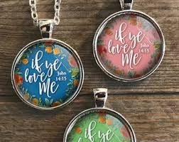 john 14 15 jewelry if ye love me keep my mandments new beginnings lds yw theme 2019 young women charm 2019 mutual theme woman