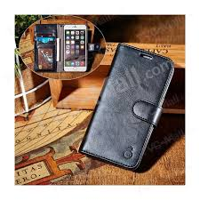musubo split leather wallet protective case for iphone se 5s 5 black