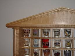 free shot glass rack plans designs