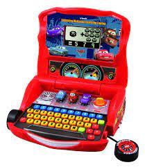 VTech - Disney's Cars - Lightning McQueen Learning Laptop - ToysPlus