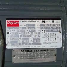 haldex hydraulic pump with 5hp dayton motor li dayton motor frame 184tchz li 1745 rpm li 208 230 460 volts li 14 6 13 7 6 8 s li manufacturer