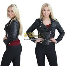 las black leather jacket