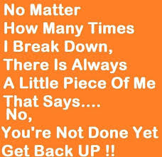 Get Back Up Quotes Magnificent 48 Best Quotes About Back Back Quotes QuotesOnImages