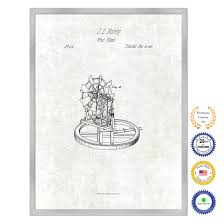surgical instrument patent 1902 doctor office decor. Brilliant Office 1837 Farming Wind Wheel Antique Patent Artwork Silver Framed Canvas Print  Home Office Decor Great For Farmer Milk Lover Cattle Rancher For Surgical Instrument 1902 Doctor E