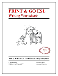 Esl Handwriting Worksheets Writing Exercises Free Poetry Activities ...