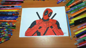 Small Picture Deadpool New Coloring Pages for Kids Colors Superheroes Coloring