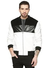 berfolk faux leather jacket