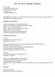 Forklift Driver Resume Template Example Samples