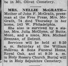 Nellie McGrath - Newspapers.com