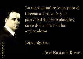 Image result for JOSE EUSTASIO RIVERA