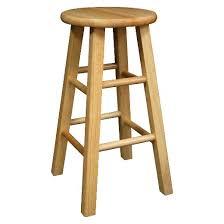 Wood Backless Barstool Set Hardwood/Natural (Set of 2) - Winsome