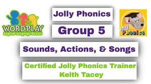 Covering, letters of the alphabet, short vowels, beginning and ending consonants, long vowels, vowel digraphs, s blends, r blends. Jolly Phonics Group 5 Youtube