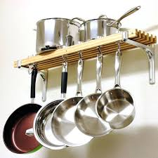 diy wall mounted pot rack cooks standard wooden by 8 inch on mount diy wall mounted pot rack