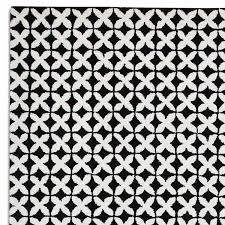 woollen rug geometric