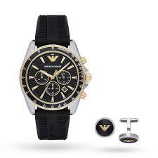 armani watches for men watches designer luxury swiss watches emporio armani mens sport watch gift set ar80003