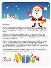 santa letters ts design
