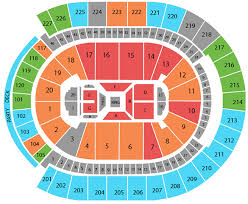 69 High Quality T Mobile Arena Seating Chart With Rows