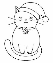 Hello Kitty Decke Kitten Color Pages Elegant Free Christmas