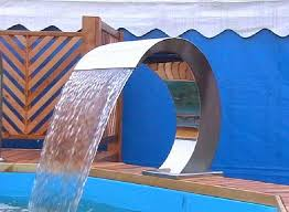 above ground pool waterfall above ground pool waterfalls intex above ground pool waterfall