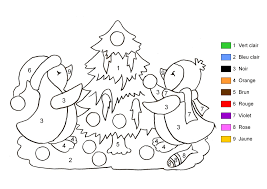 Coloriage Magique Noel Imprimer My Blog