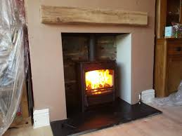fireline stove installation of fireplace and wood burning stove timelapse you