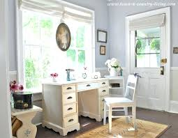desk country style computer furniture cottage style entry way via town and country living french