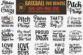 (you/help) cory with his homework? Baseball Svg Bundle Graphic By Creative Store Net Creative Fabrica