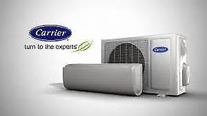 carrier split system. carrier 2.5kw split system reverse cycle air conditioner ductless a