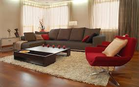 Red Living Room Decor Red Living Room Ideas Pictures Brown Sofa Wall Painting Classic