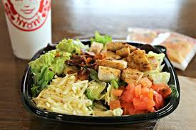 the new southwest avocado en salad joins the regular salad line up at wendy s which includes the y en caesar salad power terranean