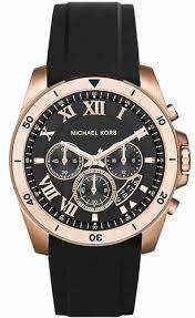 michael kors brecken black chronograph watch mk8436 men s michael kors brecken black chronograph watch mk8436