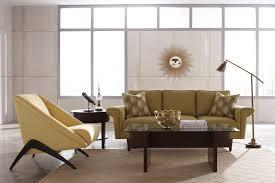 Mid Century Modern Living Room Design Design On A Dime Colorful Mid Century Modern Living Room